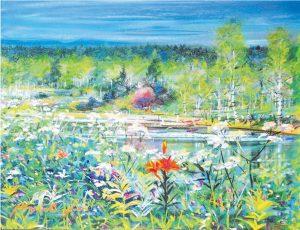 石井 清 絵画展「日本とフィンランド 二つのふる里」