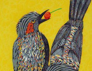 パリコレッ!ギャラリー vol.9 たけがみたえ木版画展「いっぽ、にほ、さんぽ」