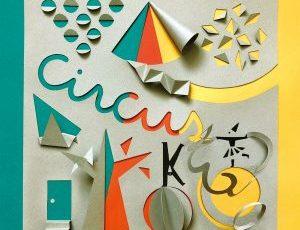 パリコレッ!ギャラリー vol.14 オグロエリ「カミノサーカス」〜1枚の紙からショーがはじまる〜